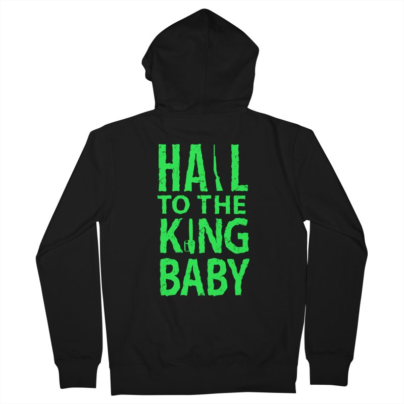 Hail To The King Men's Zip-Up Hoody by Numb Skull
