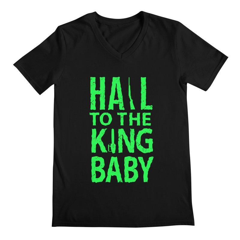 Hail To The King Men's V-Neck by Numb Skull