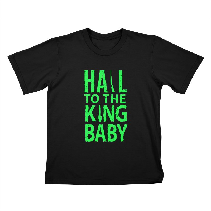 Hail To The King Kids T-shirt by Numb Skull
