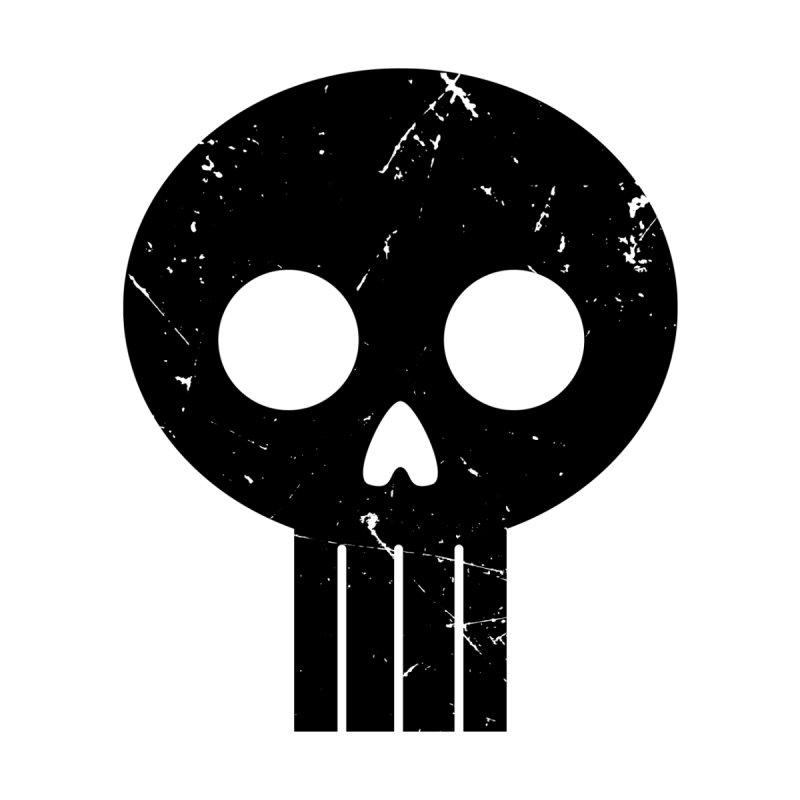 Numbskull (BLK) Kids Longsleeve T-Shirt by Numb Skull