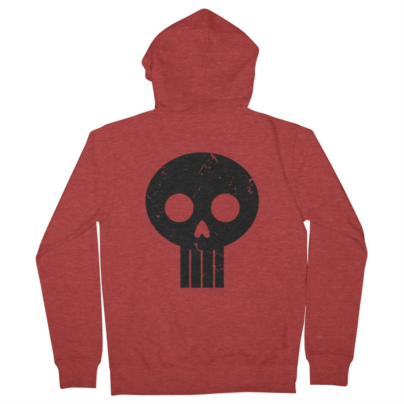 Numbskull (BLK) Men's Zip-Up Hoody by Numb Skull
