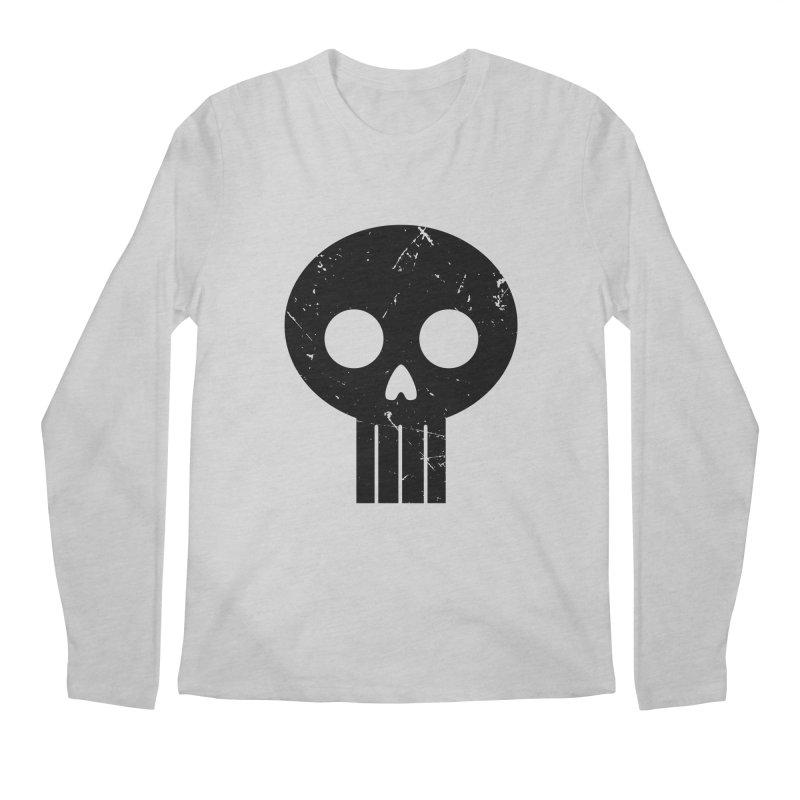 Numbskull (BLK) Men's Longsleeve T-Shirt by Numb Skull