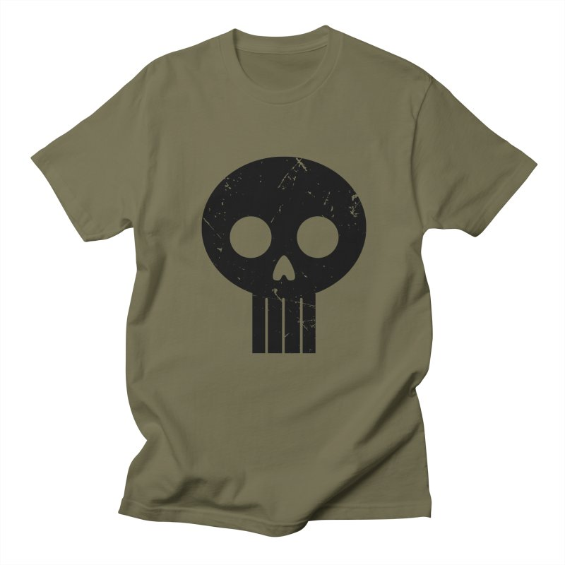 Numbskull (BLK) Women's Unisex T-Shirt by Numb Skull