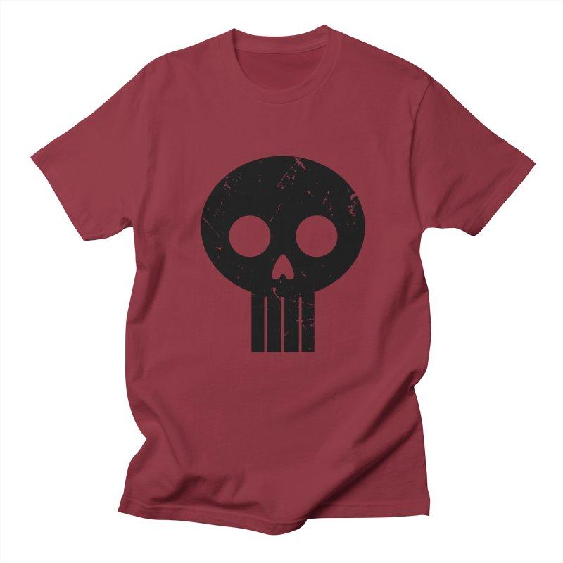 Numbskull (BLK) Men's T-shirt by Numb Skull