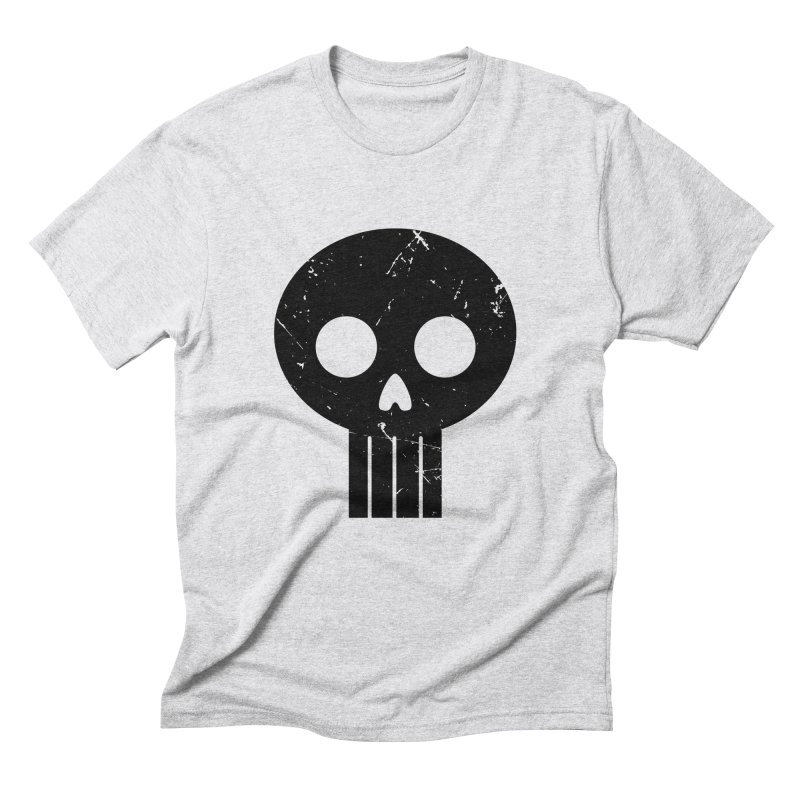 Numbskull (BLK) Men's Triblend T-shirt by Numb Skull