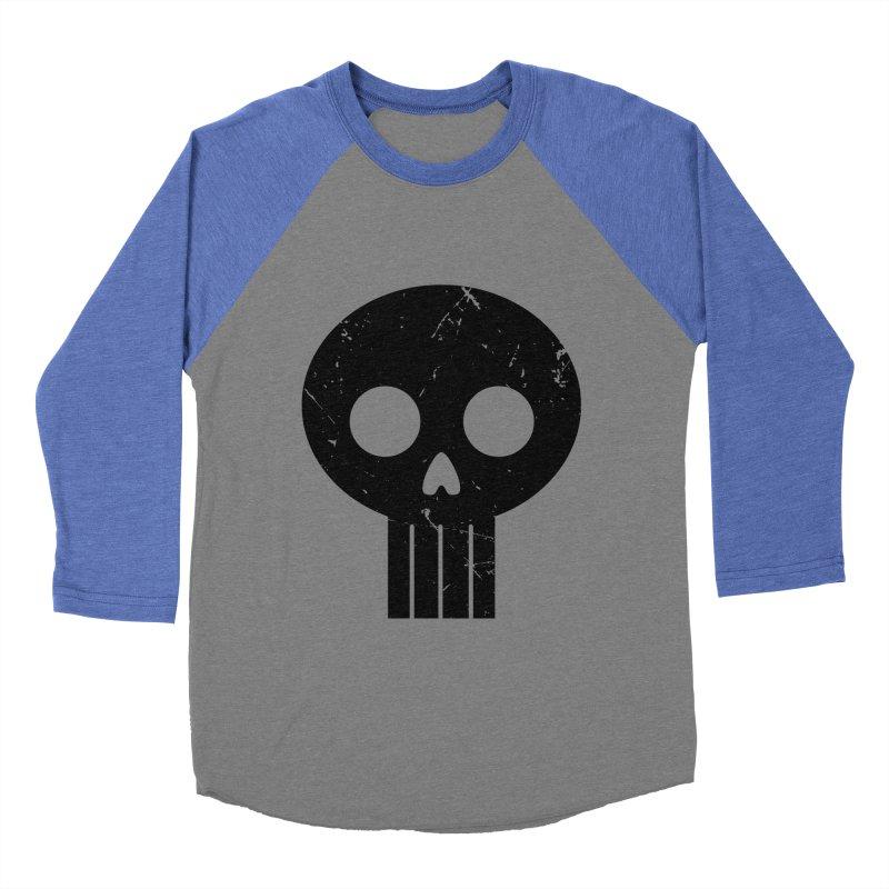 Numbskull (BLK) Women's Baseball Triblend T-Shirt by Numb Skull