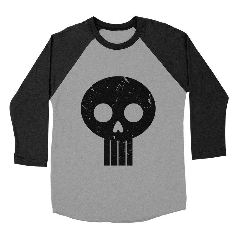 Numbskull (BLK) Men's Baseball Triblend T-Shirt by Numb Skull