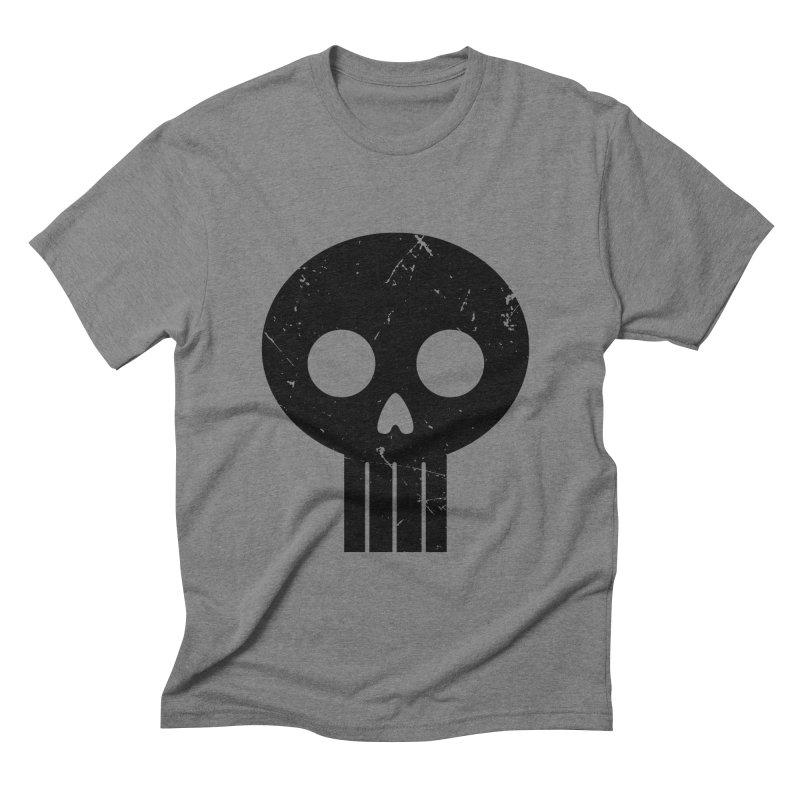Numbskull (BLK) Men's Triblend T-shirt by Numb Skull