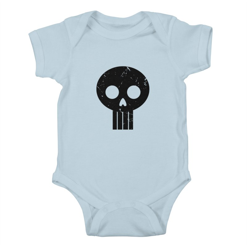 Numbskull (BLK) Kids Baby Bodysuit by Numb Skull
