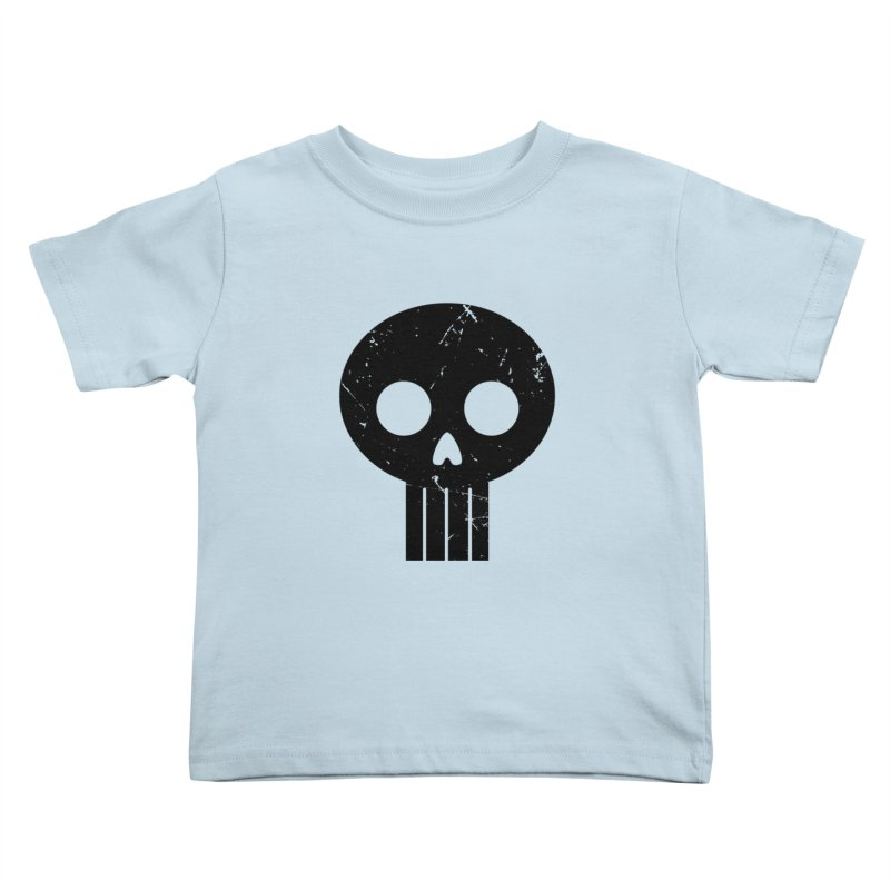Numbskull (BLK) Kids Toddler T-Shirt by Numb Skull