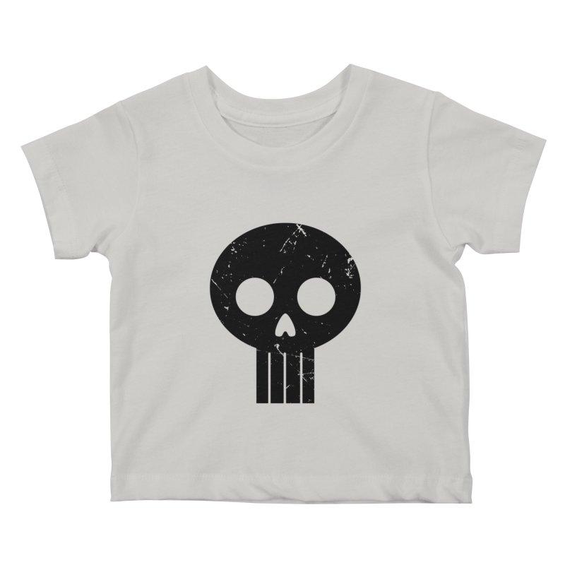 Numbskull (BLK) Kids Baby T-Shirt by Numb Skull