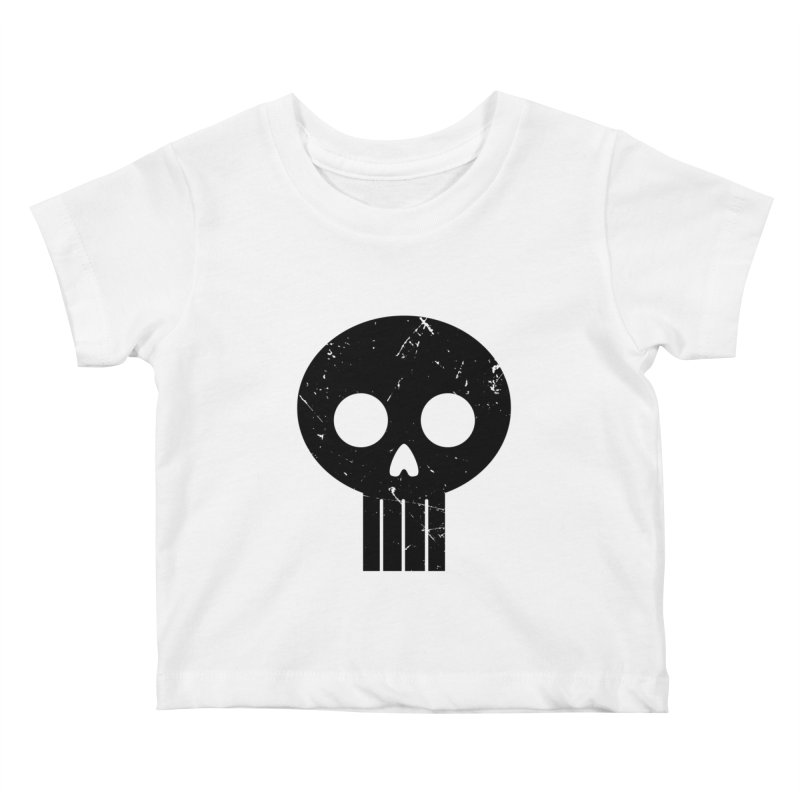 Numbskull (BLK) Kids Baby T-Shirt by Numb Skull