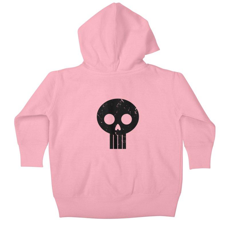Numbskull (BLK) Kids Baby Zip-Up Hoody by Numb Skull