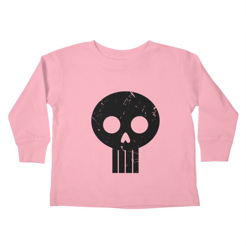 Numbskull (BLK) Kids Toddler Longsleeve T-Shirt by Numb Skull