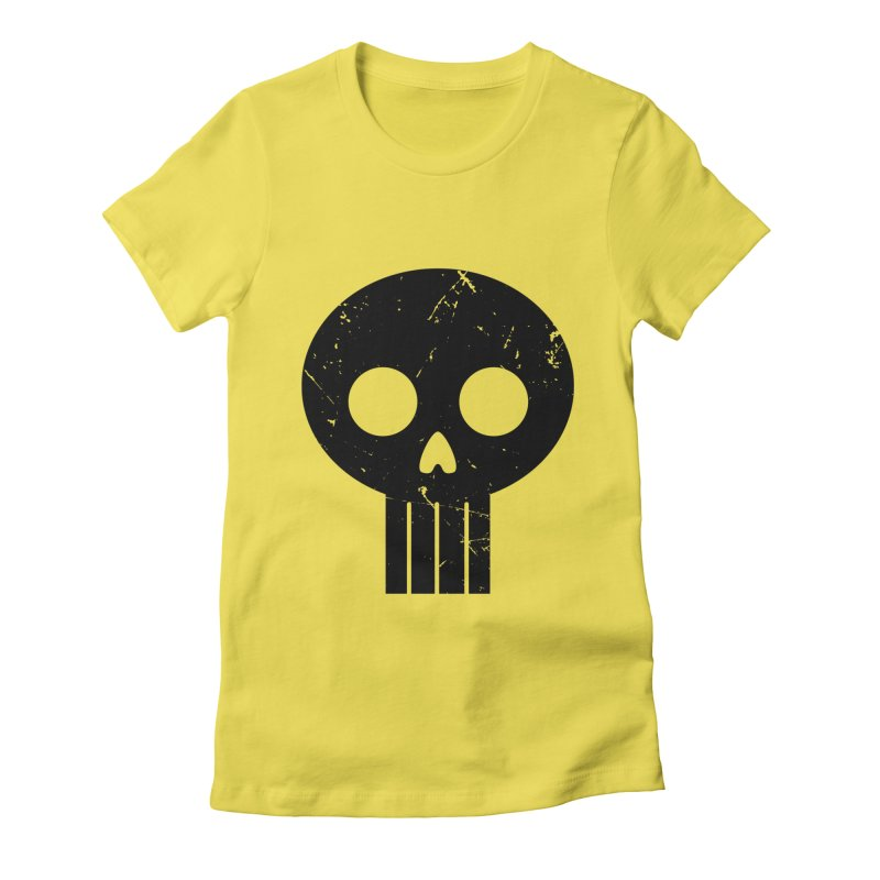 Numbskull (BLK) Women's Fitted T-Shirt by Numb Skull