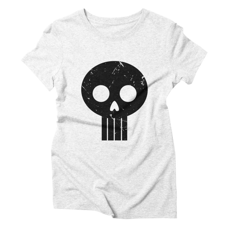 Numbskull (BLK) Women's Triblend T-shirt by Numb Skull