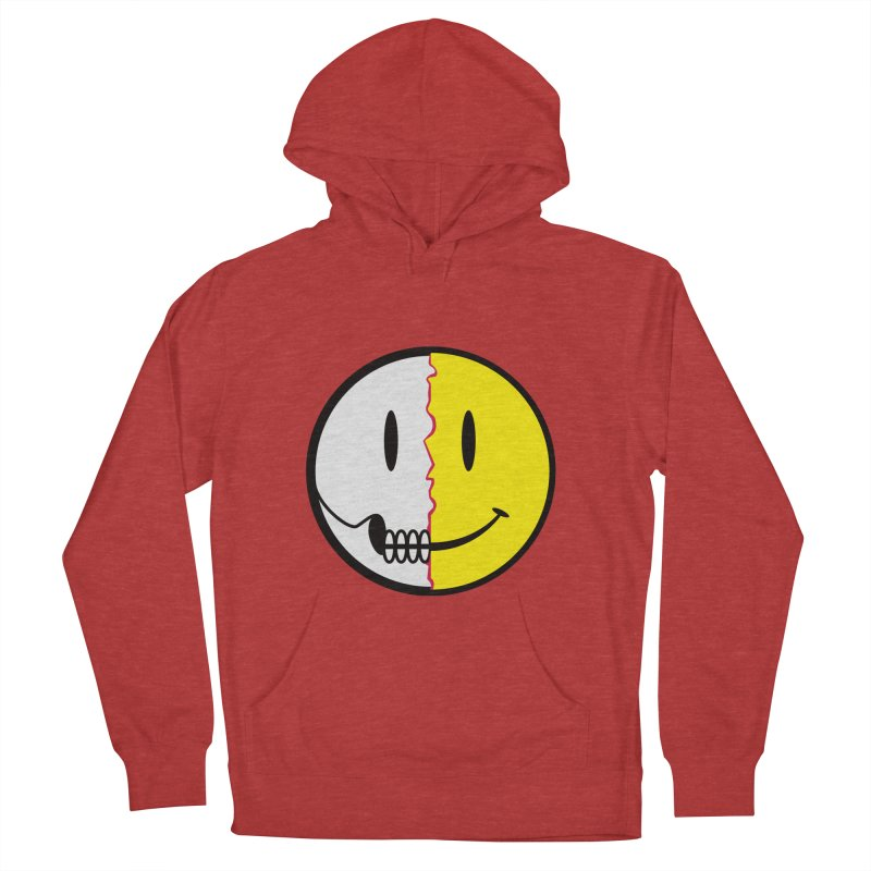 Smiley Dissection  Women's Pullover Hoody by Numb Skull