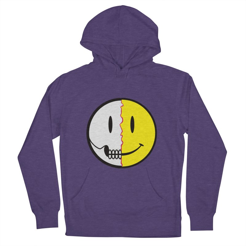 Smiley Dissection  Men's Pullover Hoody by Numb Skull