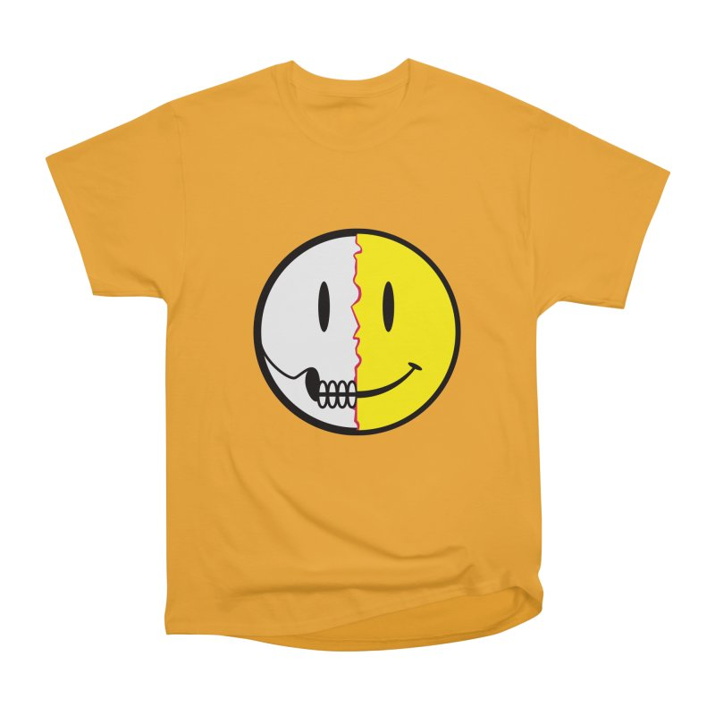 Smiley Dissection  Women's Classic Unisex T-Shirt by Numb Skull