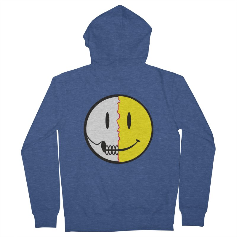 Smiley Dissection  Women's Zip-Up Hoody by Numb Skull