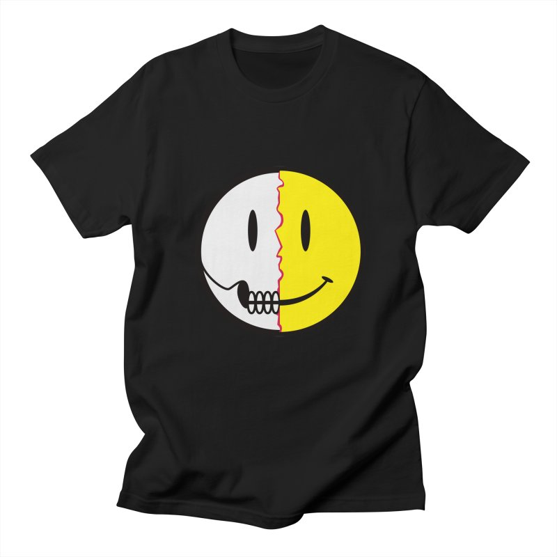 Smiley Dissection  Men's T-shirt by Numb Skull