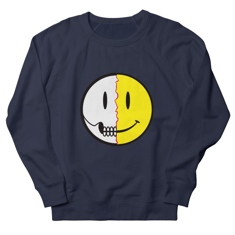 Smiley Dissection  Men's Sweatshirt by Numb Skull