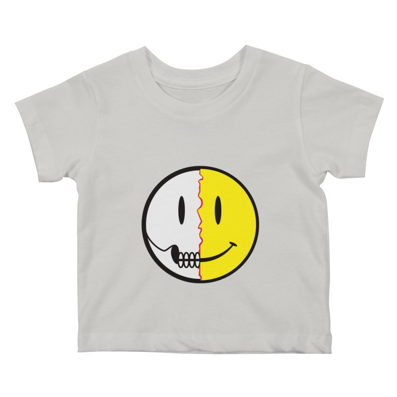 Smiley Dissection  Kids Baby T-Shirt by Numb Skull