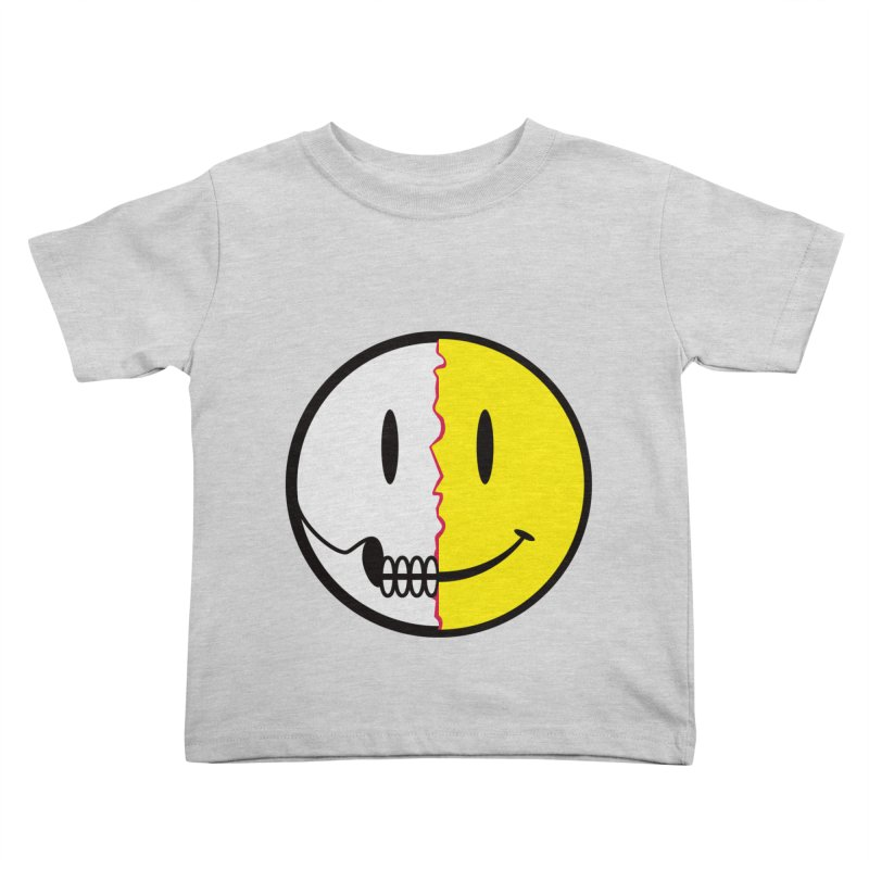 Smiley Dissection  Kids Toddler T-Shirt by Numb Skull