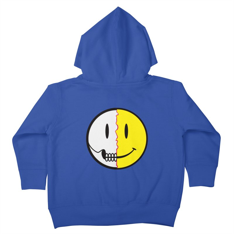 Smiley Dissection  Kids Toddler Zip-Up Hoody by Numb Skull