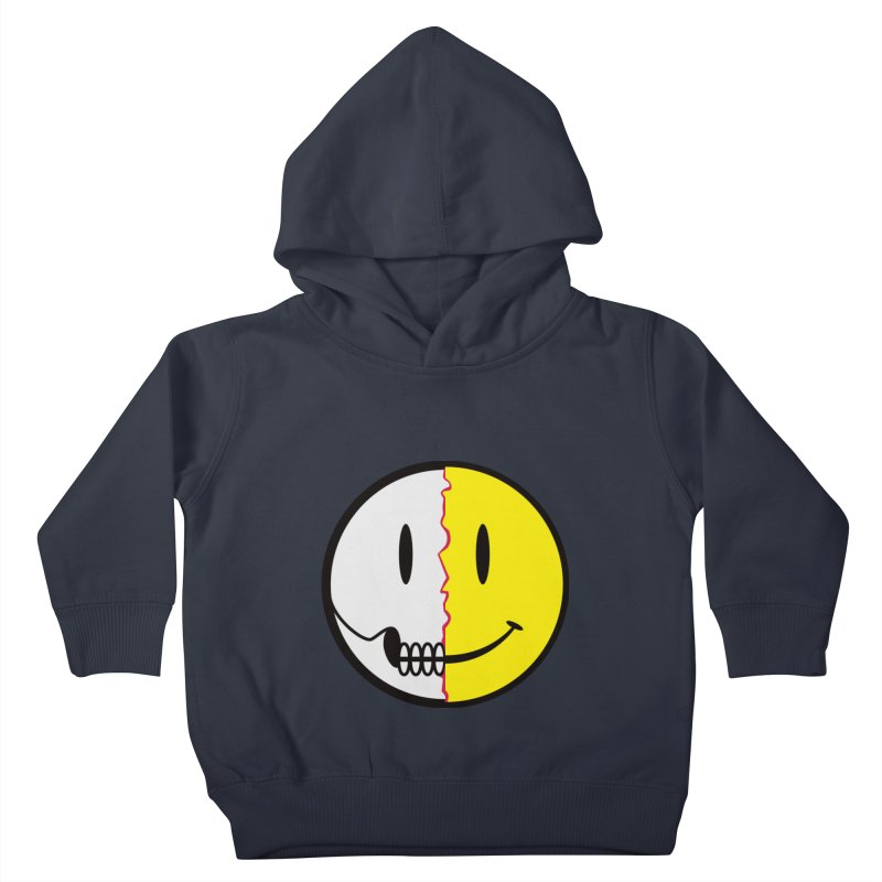 Smiley Dissection  Kids Toddler Pullover Hoody by Numb Skull