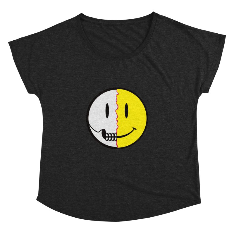Smiley Dissection  Women's Dolman by Numb Skull