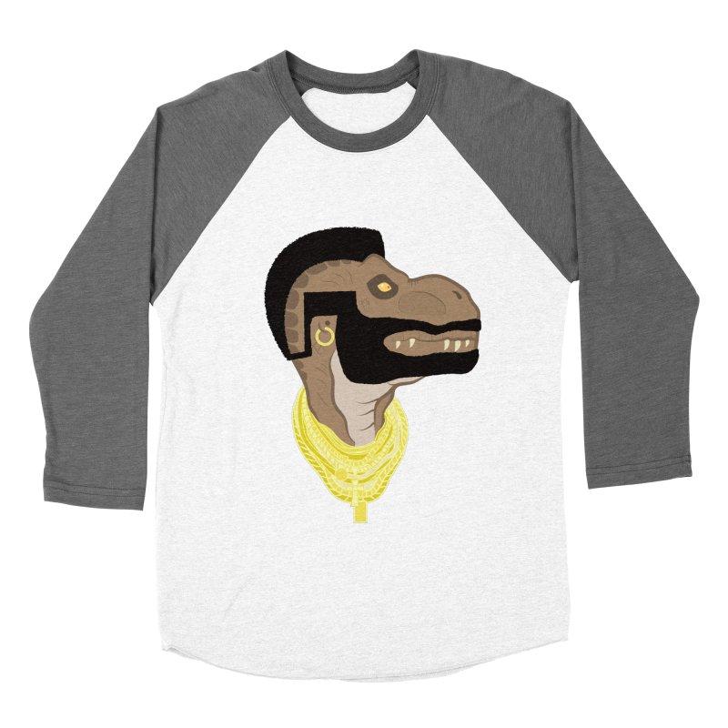 MR T REX Men's Baseball Triblend T-Shirt by Numb Skull