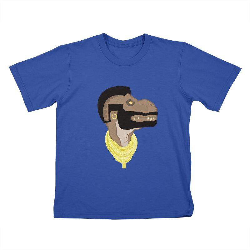 MR T REX Kids T-shirt by Numb Skull