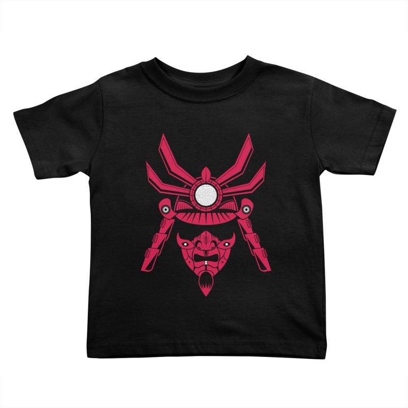 Samurai  Kids Toddler T-Shirt by Numb Skull