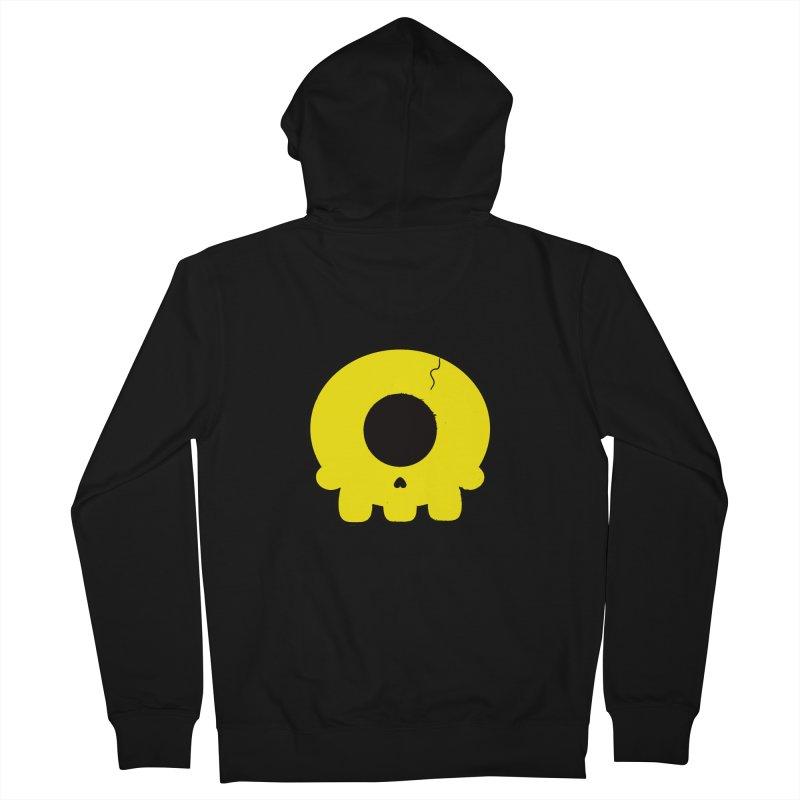Cyclops Skull Men's Zip-Up Hoody by Numb Skull