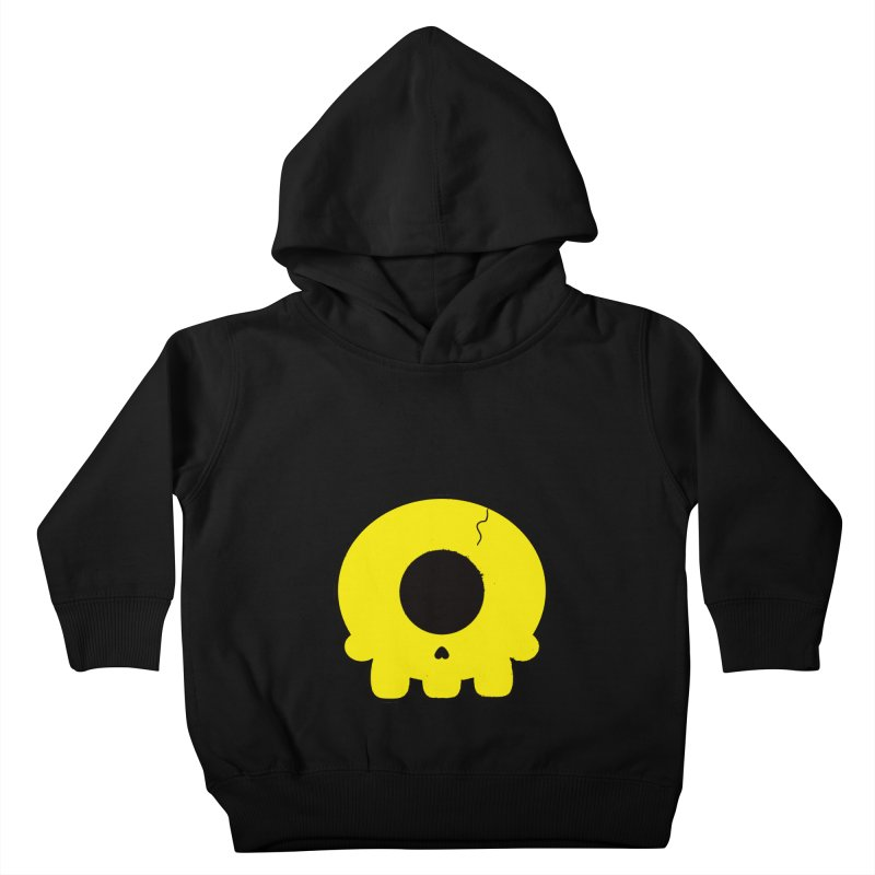 Cyclops Skull Kids Toddler Pullover Hoody by Numb Skull