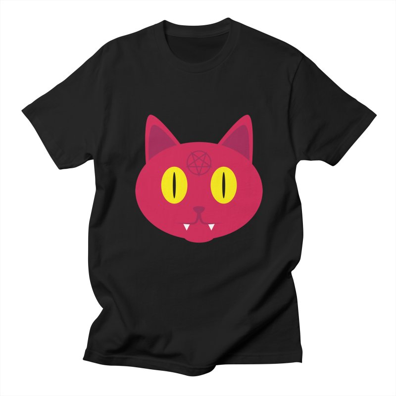 Devil Cat (Red) Women's Unisex T-Shirt by Numb Skull