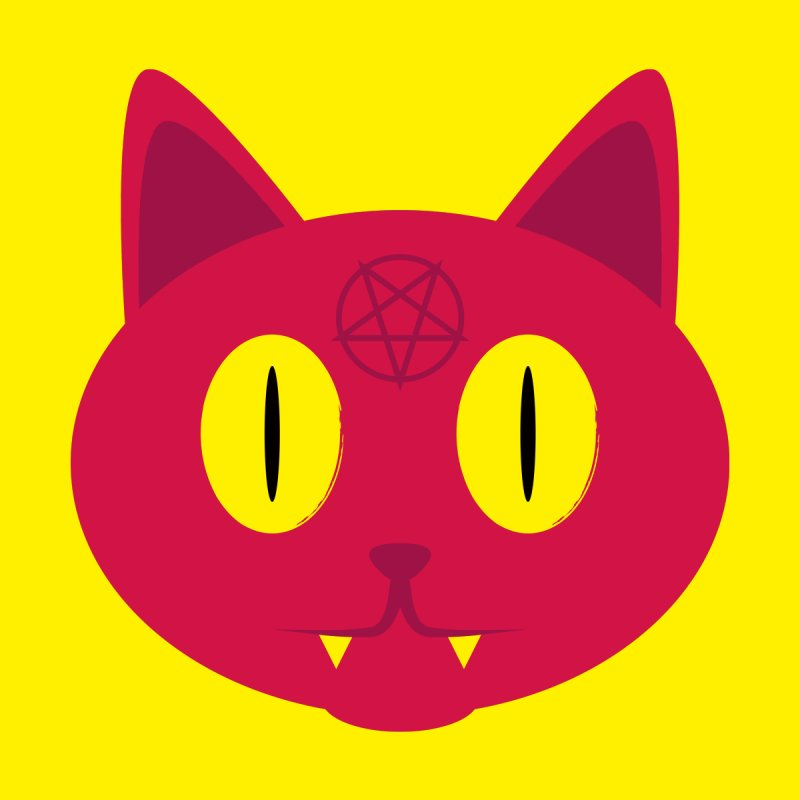 Devil Cat (Red) by Numb Skull
