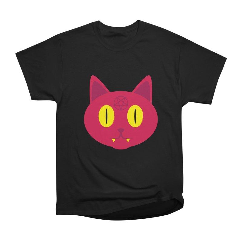 Devil Cat (Red) Men's Classic T-Shirt by Numb Skull