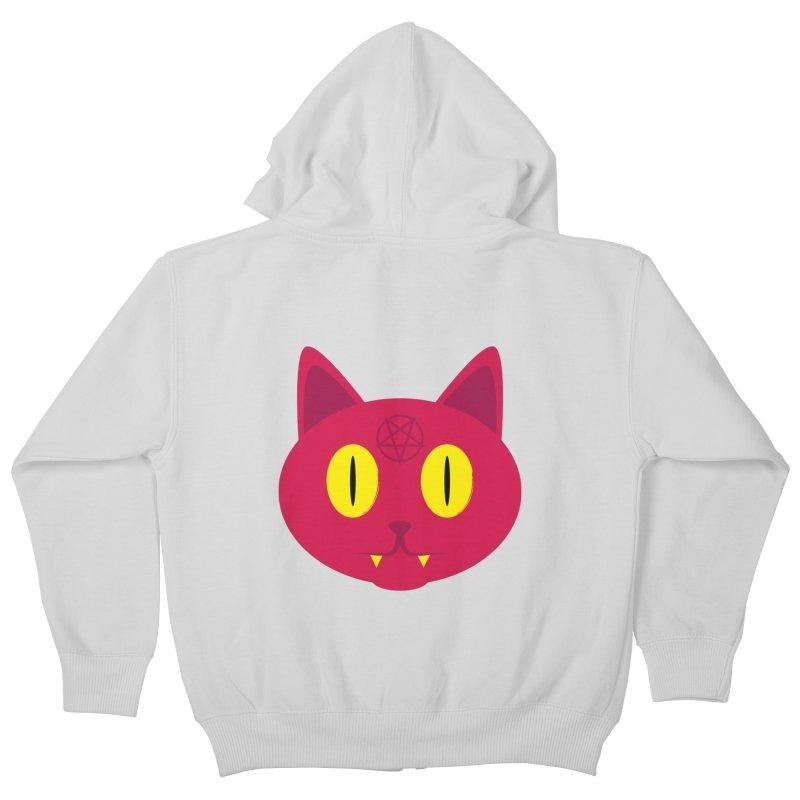 Devil Kat Kids Zip-Up Hoody by Numb Skull