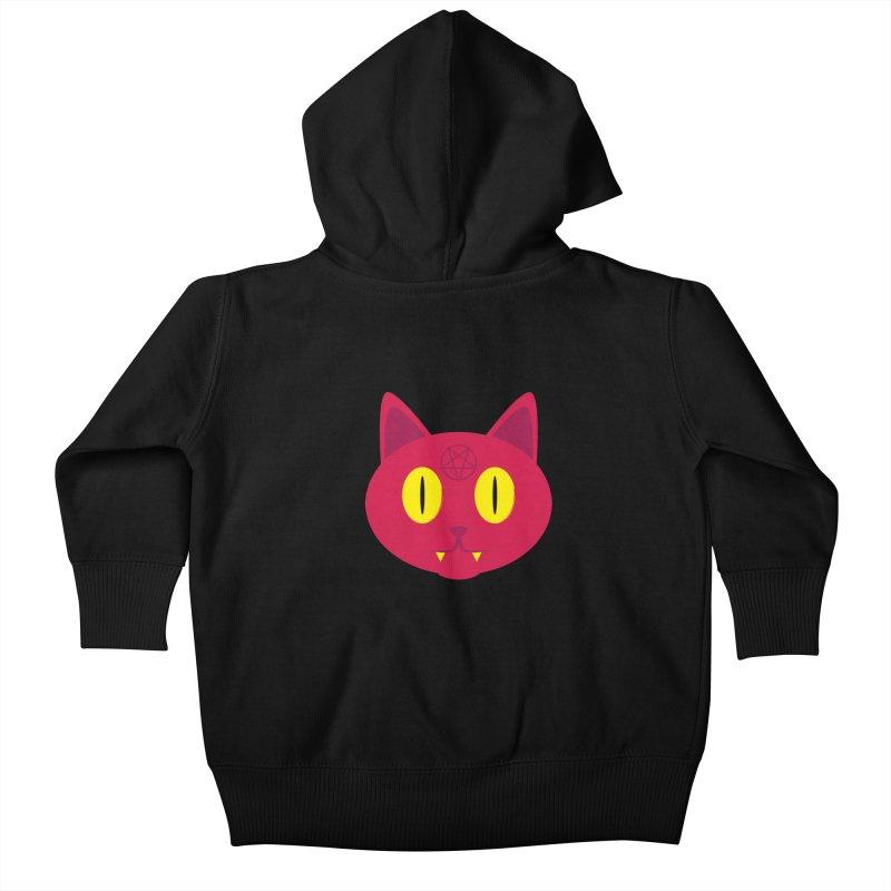Devil Kat Kids Baby Zip-Up Hoody by Numb Skull
