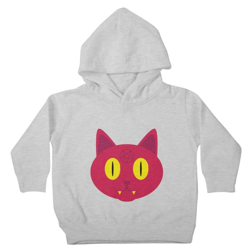 Devil Kat Kids Toddler Pullover Hoody by Numb Skull