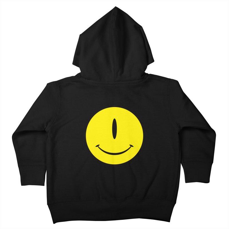 Happy Cyclops Kids Toddler Zip-Up Hoody by Numb Skull