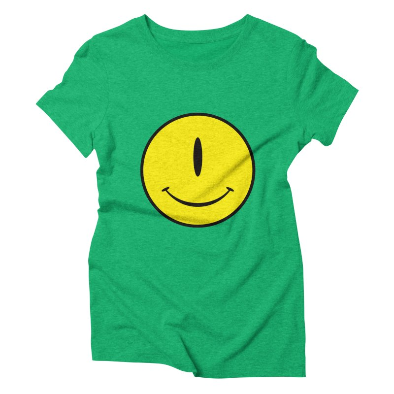 Happy Cyclops Women's Triblend T-shirt by Numb Skull