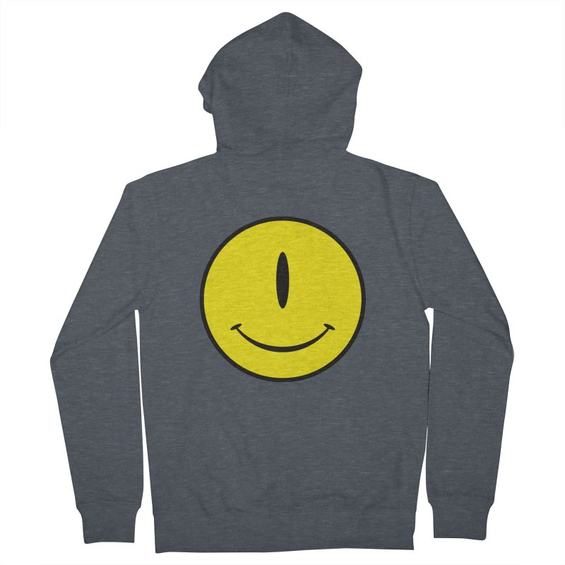 Happy Cyclops Men's Zip-Up Hoody by Numb Skull