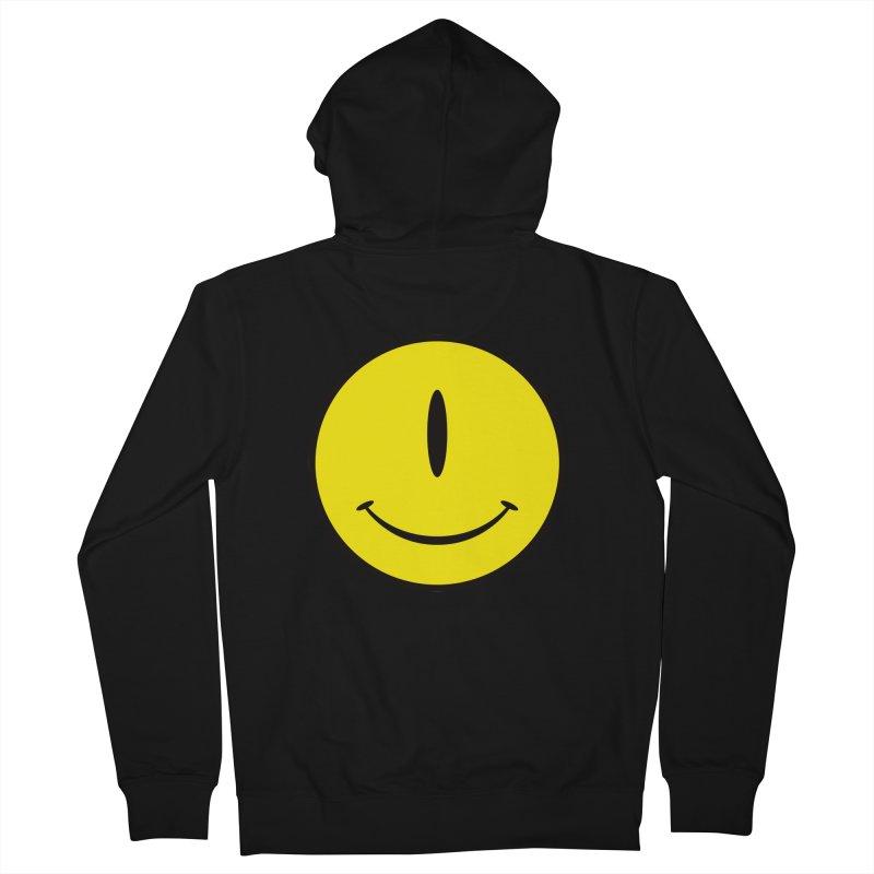 Happy Cyclops Men's Zip-Up Hoody by Numb Skull