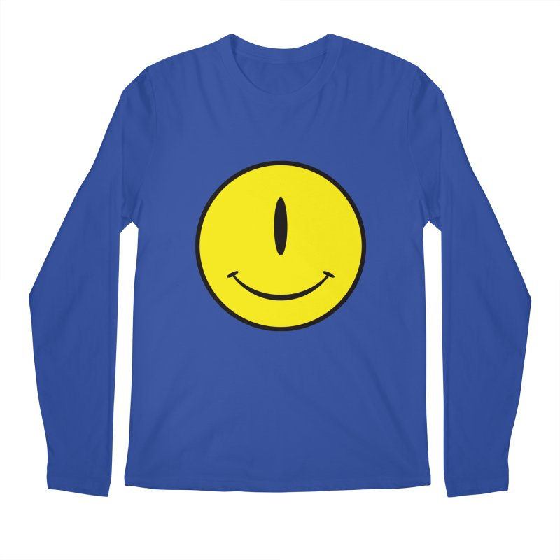 Happy Cyclops Men's Longsleeve T-Shirt by Numb Skull