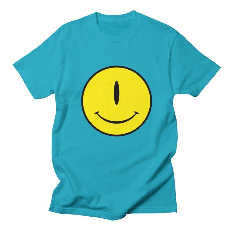 Happy Cyclops Men's T-Shirt by Numb Skull