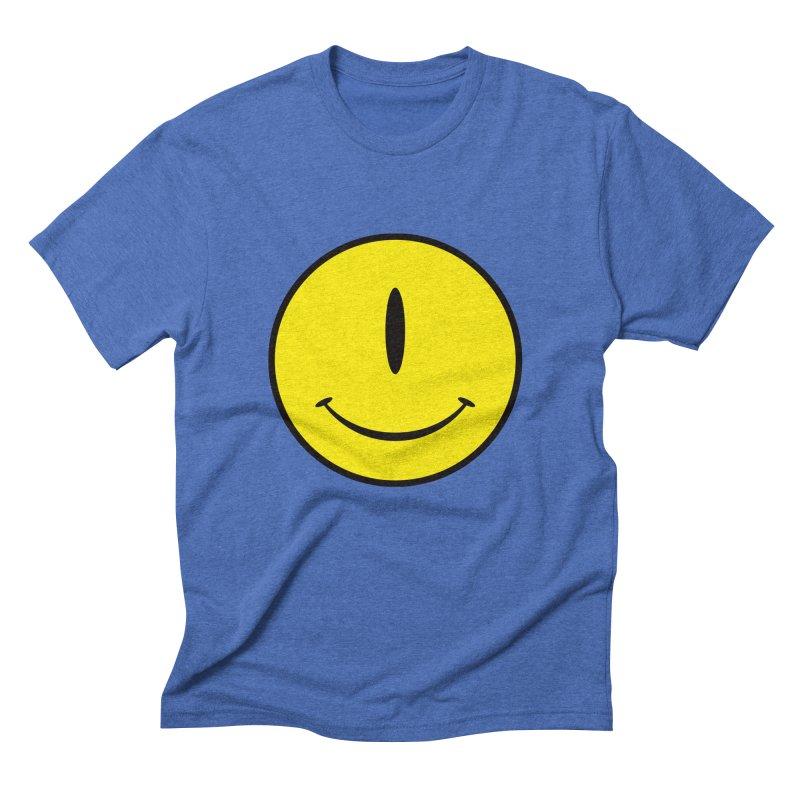 Happy Cyclops Men's Triblend T-Shirt by Numb Skull