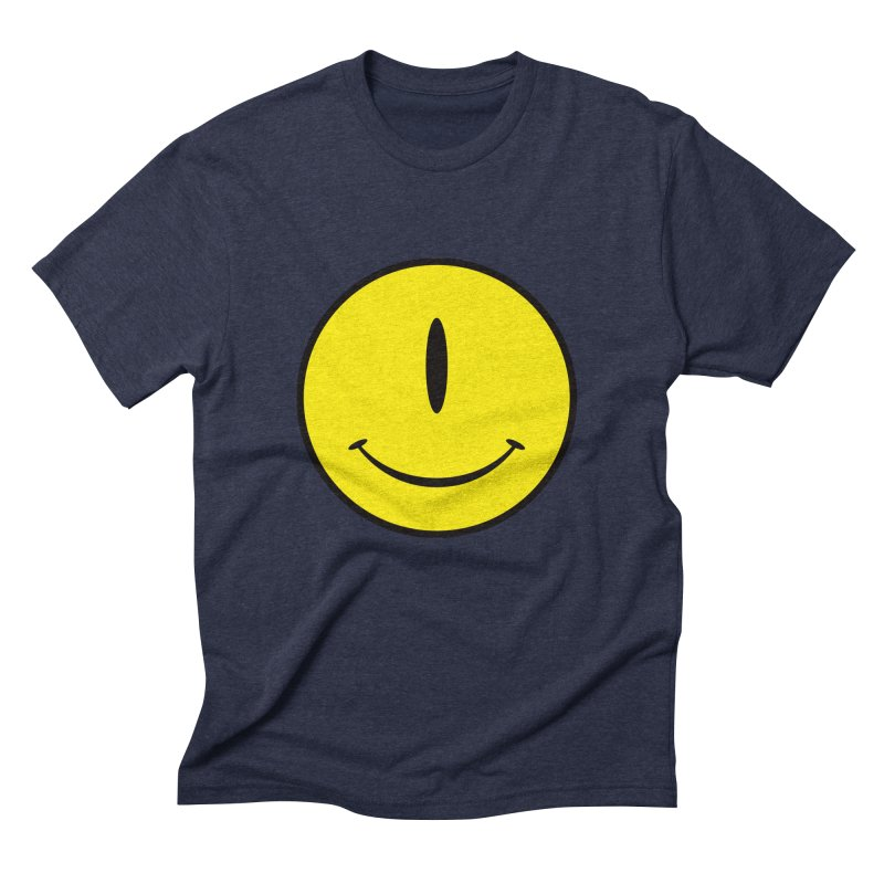 Happy Cyclops Men's Triblend T-shirt by Numb Skull
